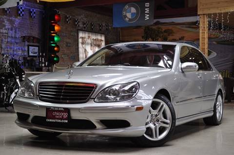 2003 Mercedes-Benz S-Class for sale at Chicago Cars US in Summit IL
