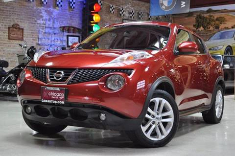 2012 Nissan JUKE for sale at Chicago Cars US in Summit IL