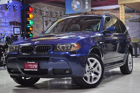 2006 BMW X3 for sale at Chicago Cars US in Summit IL