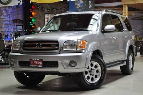 2002 Toyota Sequoia for sale at Chicago Cars US in Summit IL