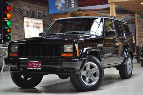 2000 Jeep Cherokee for sale at Chicago Cars US in Summit IL