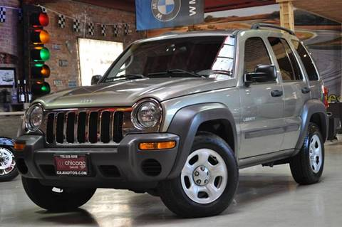 2004 Jeep Liberty for sale at Chicago Cars US in Summit IL