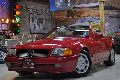 1994 Mercedes-Benz SL-Class for sale at Chicago Cars US in Summit IL
