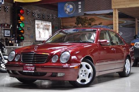 2001 Mercedes-Benz E-Class for sale at Chicago Cars US in Summit IL