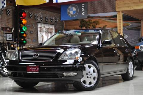 2002 Lexus LS 430 for sale at Chicago Cars US in Summit IL