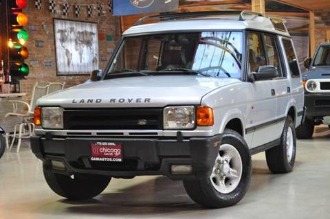1997 Land Rover Discovery for sale at Chicago Cars US in Summit IL