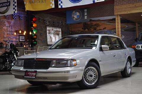 1992 Lincoln Continental for sale at Chicago Cars US in Summit IL