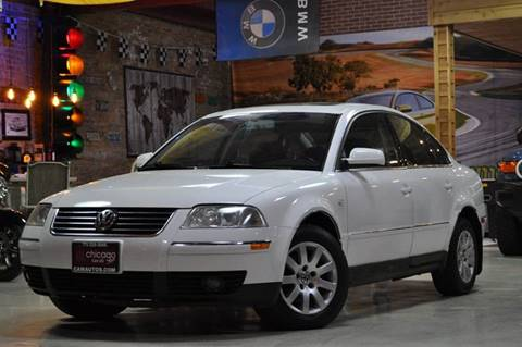 2002 Volkswagen Passat for sale at Chicago Cars US in Summit IL