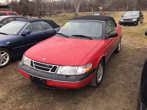 1995 Saab 900 for sale at Richard C Peck Auto Sales in Wellsville NY