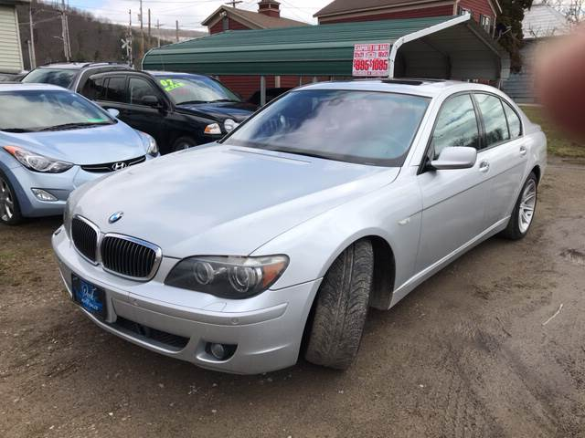 2006 Bmw 7 Series 750i In Wellsville Ny Richard C Peck Auto Sales