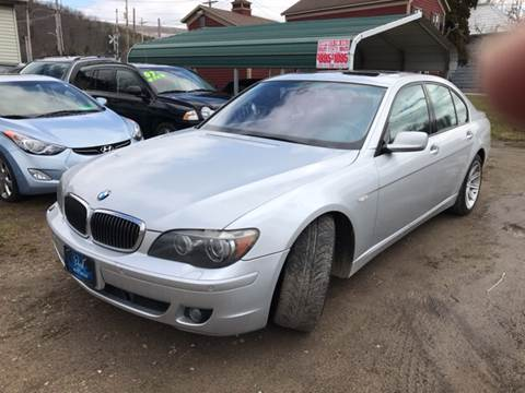 2006 BMW 7 Series for sale at Richard C Peck Auto Sales in Wellsville NY