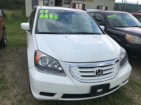2009 Honda Odyssey for sale at Richard C Peck Auto Sales in Wellsville NY