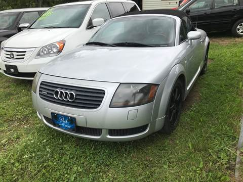 2001 Audi TT for sale at Richard C Peck Auto Sales in Wellsville NY