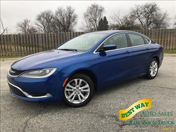 2015 Chrysler 200 for sale in Alsip, IL