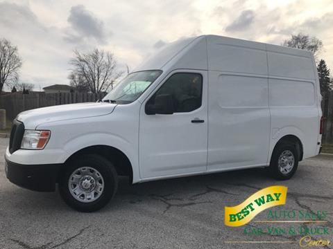 2012 Nissan NV Cargo for sale in Alsip, IL