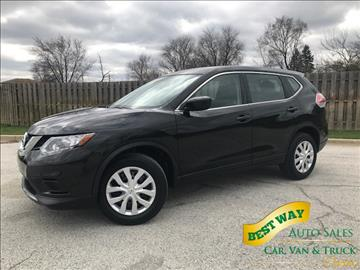 2016 Nissan Rogue for sale in Alsip, IL