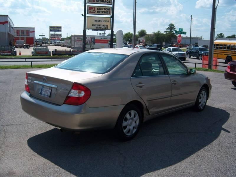 2003 Toyota Camry LE 4dr Sedan - Tulsa OK