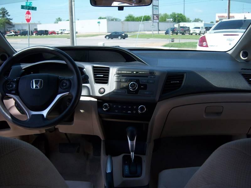 2012 Honda Civic EX 4dr Sedan - Tulsa OK