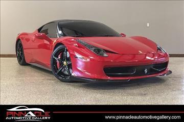 2011 ferrari 458 italia for sale in o fallon mo. Cars Review. Best American Auto & Cars Review
