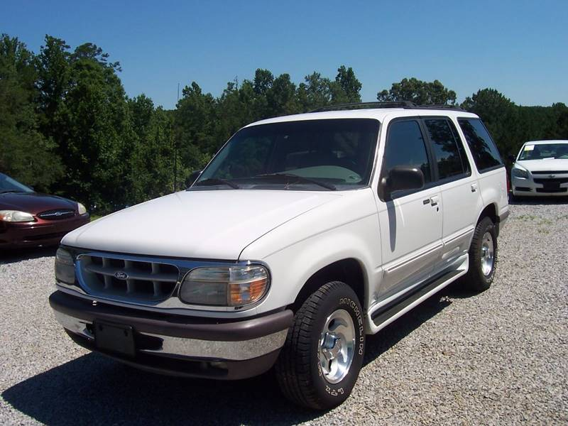1997 ford explorer xl 4dr suv in roanoke al chris auto sales. Black Bedroom Furniture Sets. Home Design Ideas