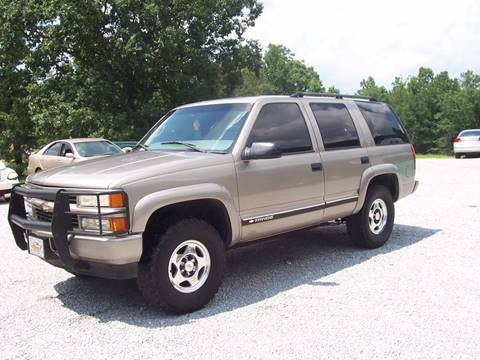 Used 2000 Chevrolet Tahoe LimitedZ71 For Sale  Carsforsalecom
