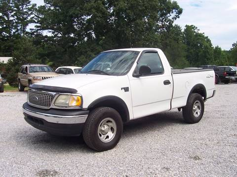 2003 Ford F-150 for sale at CHRIS AUTO SALES in Roanoke AL