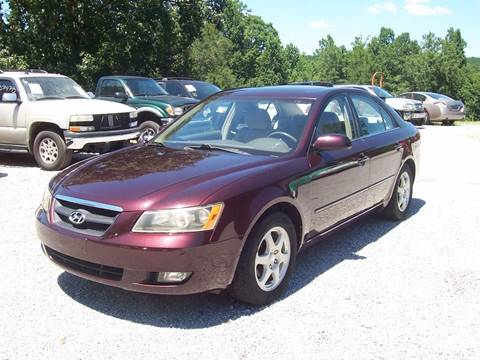 2006 Hyundai Sonata for sale at CHRIS AUTO SALES in Roanoke AL