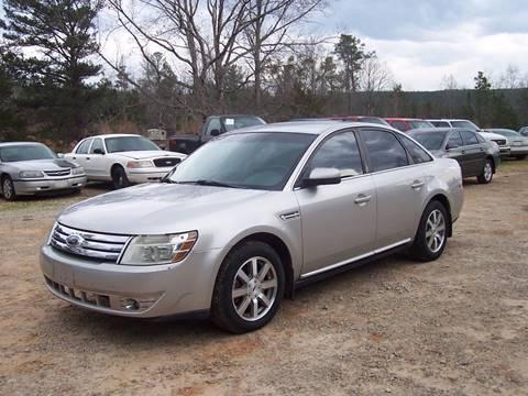 2008 Ford Taurus for sale in Roanoke, AL