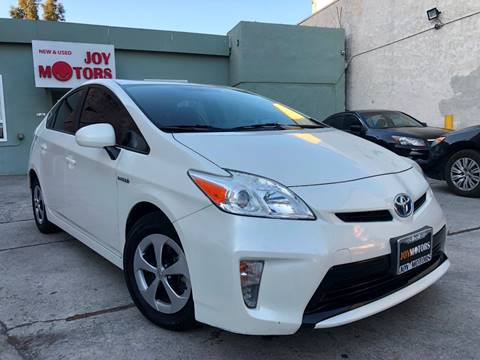 2013 Toyota Prius for sale at Joy Motors in Los Angeles CA