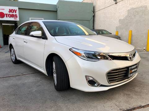 2015 Toyota Avalon for sale at Joy Motors in Los Angeles CA
