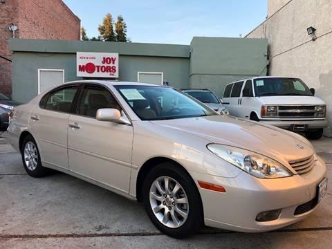 2004 Lexus ES 330 for sale at Joy Motors in Los Angeles CA