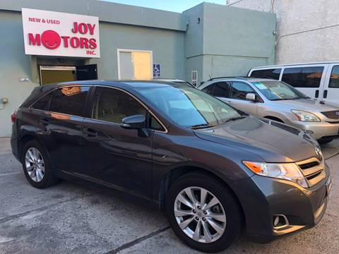 2014 Toyota Venza for sale at Joy Motors in Los Angeles CA