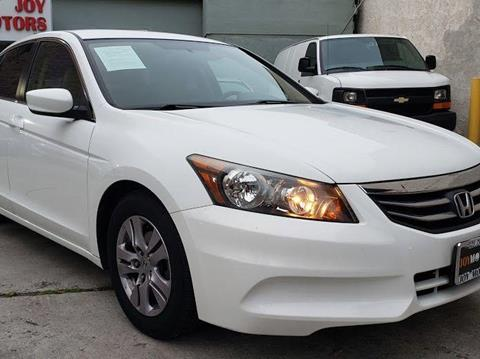 2012 Honda Accord for sale at Joy Motors in Los Angeles CA