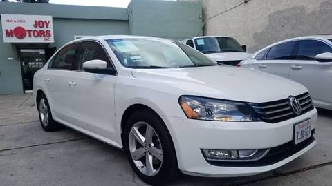 2015 Volkswagen Passat for sale at Joy Motors in Los Angeles CA