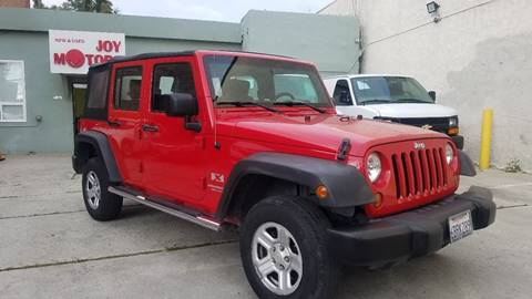 2008 Jeep Wrangler Unlimited for sale at Joy Motors in Los Angeles CA