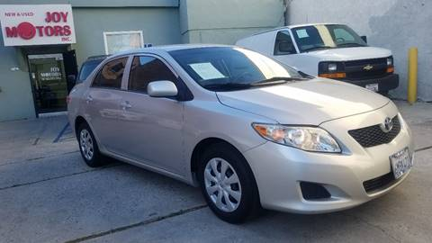 2010 Toyota Corolla for sale at Joy Motors in Los Angeles CA