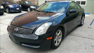 2007 Infiniti G35 for sale at Joy Motors in Los Angeles CA