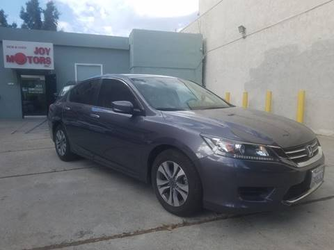 2015 Honda Accord for sale at Joy Motors in Los Angeles CA