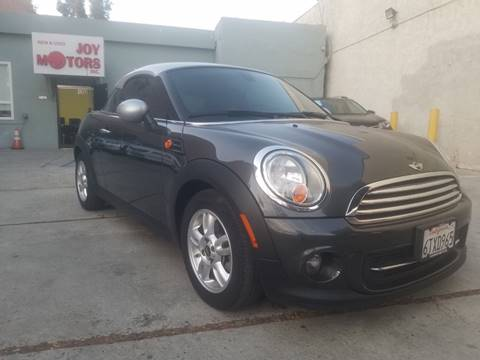 2012 MINI Cooper Coupe for sale at Joy Motors in Los Angeles CA