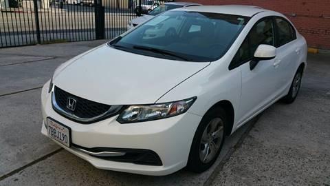 2013 Honda Civic for sale at Joy Motors in Los Angeles CA