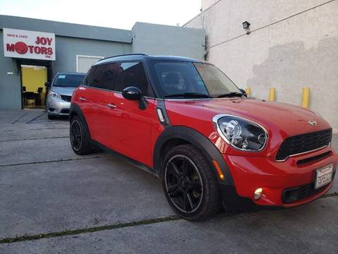2012 MINI Cooper Countryman for sale at Joy Motors in Los Angeles CA