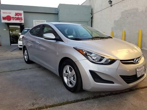 2014 Hyundai Elantra for sale at Joy Motors in Los Angeles CA