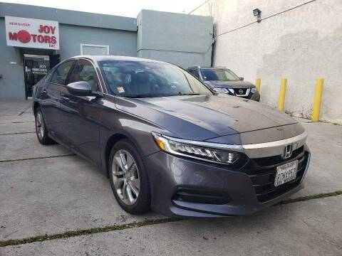 2018 Honda Accord for sale at Joy Motors in Los Angeles CA