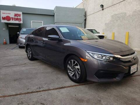 2017 Honda Civic for sale at Joy Motors in Los Angeles CA