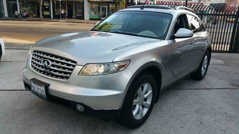 2004 Infiniti FX35 for sale at Joy Motors in Los Angeles CA