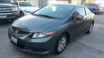 2012 Honda Civic for sale at Joy Motors in Los Angeles CA