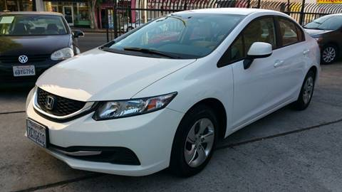 2013 Honda Civic for sale at Joy Motors in Los Angeles CA