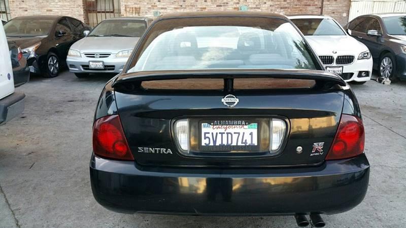 2006 Nissan Sentra Se R Spec V >> 2006 Nissan Sentra Se R Spec V 4dr Sedan In Los Angeles Ca Joy Motors