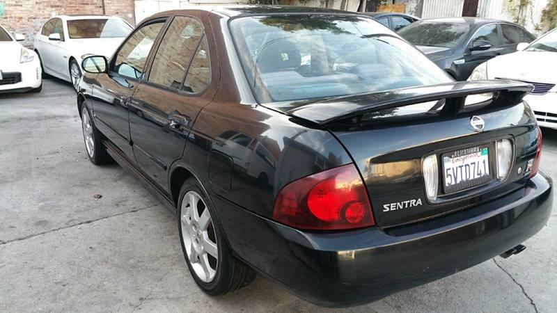 2006 Nissan Sentra Se R Spec V 4dr Sedan In Los Angeles Ca Joy Motors