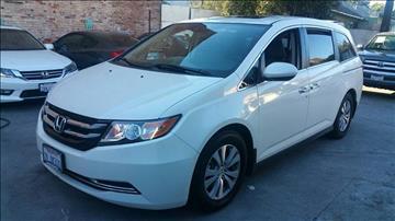 2015 Honda Odyssey for sale at Joy Motors in Los Angeles CA
